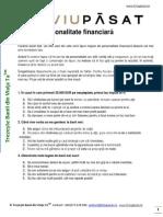 TestPersonalitateFinanciara