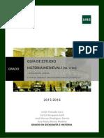 Guia Medieval I TOTAL 2015-2016
