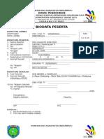 Formulir Peserta Dan Pendamping LKS SMK Dwi