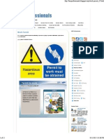 HSE Professionals _ Work Permit