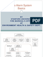 SU-FMO Fire Alarm System Basics Presentation to Building Managers 7-28-2014