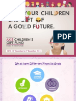 Axis Children's Gift Fund - NFO PPT