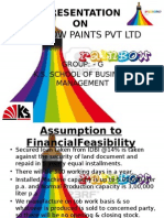 Feasibility on Paint