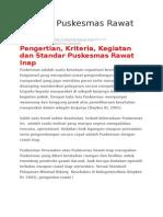 STANDAR PUSKESMAS RAWAT INAP.docx
