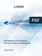 Governance for a World without World Government