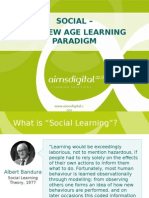 SOCIAL – THE NEW AGE LEARNING PARADIGM