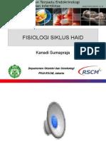 Fisiologi Siklus Haid (Kuliah PPDS 2013)