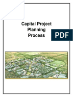 Capital Project Planning Process Summary
