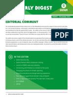 Oxfam in Ghana Quarterly Digest