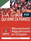 MRC La Gauche Qui Aime La France