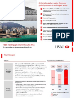 Hsbc Holdings Plc Presentation to Investors and Analysts