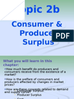 Consumer & Proucer Surplus
