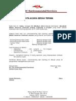 Berita Acara Serah Terima RO PT Vision Ease.doc