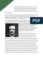 Edgar Allan Poe - Mark