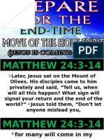 Prepare for the End Time Move of the Holy Spirit Jesus is Coming Again Apostle Abraham Jcbc 101415
