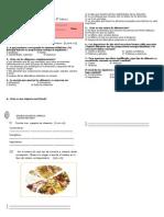 prueba cs naturales 5° nutrición