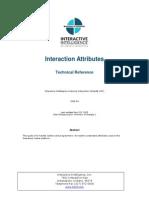 Attributes Interactive intelligence