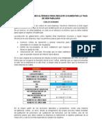 Analisis de Cambio de Tir Ejercicio en Clase Gerencia-carlos Rubiano