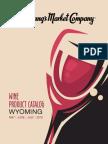 Wyoming Wine Catalog MJJ