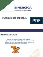 Manual Supervision Efectiva