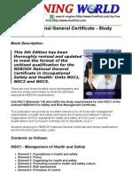 NEBOSH General Certificate Study Book