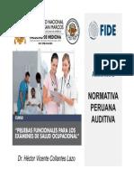 Normativa Peruana Audio