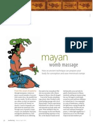 Mayan Womb Massage   Uterus   Childbirth