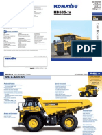HD605 7R Dumper Technical Sheet