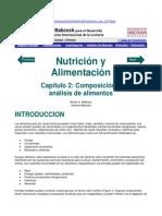 Composicion y Analisis de Los Alimentos