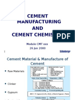 3 Cement Chemistry CL 26 Jun 00 A