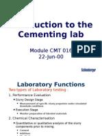 5 Cementing Lab CL 22 Jun 00 A