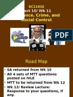 SC1101E Lect 11 Deviance and Crime Sem1 2013-14