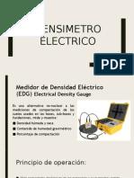 Densímetro eléctrico