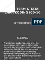 (4) Lead Term & Tata Cara Koding Icd-10