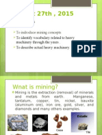 Mining Operator