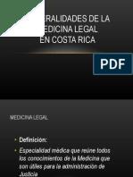 Parte I Seminario de Generalidades de La Medicina Legal