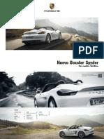 Boxster Spyder - Catálogo.pdf