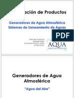 Presentación Básica de Productos Aqua Solutions