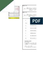 EN-13480-3 values calculation
