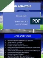 Ppt Job Analysis
