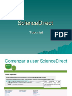 Tutorial Science Direct