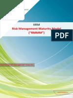 IIRM Risk Management Maturity Model (RMMM)