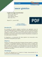 Documento ExternoCancer Gastrico