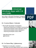 01 - Building Universal Windows Apps - Part 1