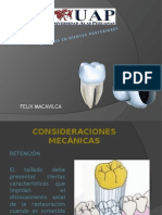 Posteriores Dental