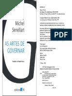 218003494 Michel Senellart as Artes de Governar Ate Capitulo 3