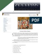Os Santos Padres Da Igreja - Ecclesia