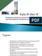 5. Kala III-IV Persalinan