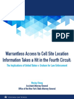 Warrantless Access to Cell Site Location Information Takes a Hit in the Fourth Circuit