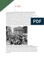 La Crisis de 1929